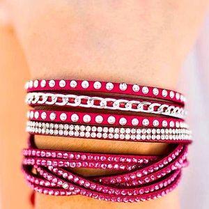 Work Your Magic - Pink Bracelet